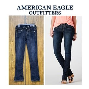 NEW American Eagle Skinny Kick Dark Wash Jeans